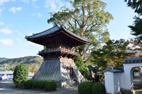 法蔵寺の鐘楼