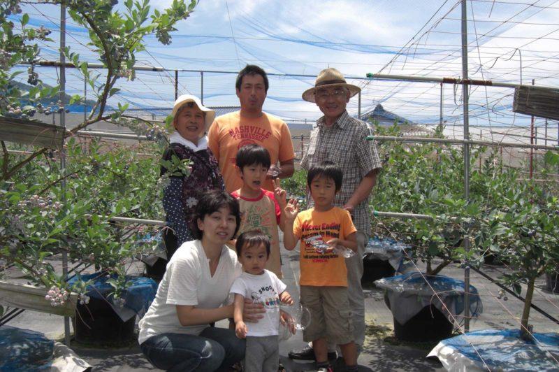 ブルーベリー狩り 浅井農園 Asai Farm